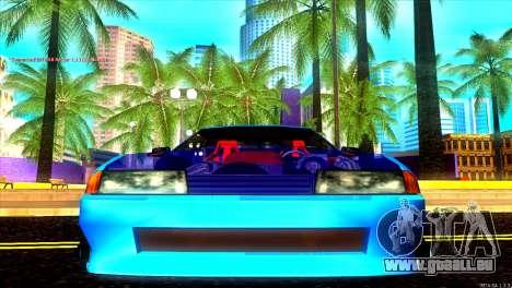 Elegy Dorifto Tune pour GTA San Andreas laissé vue