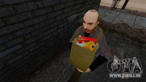 Neue Lebensmittel für GTA 4 Sekunden Bildschirm