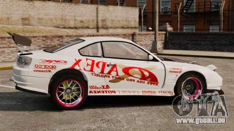 Nissan S330SX GT pour GTA 4 est une gauche