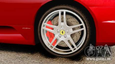 Ferrari F430 2005 pour GTA 4 est un droit