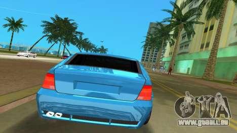 Volkswagen Bora pour une vue GTA Vice City de la droite
