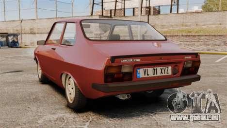 Dacia 1310 Sport v1.1 pour GTA 4 Vue arrière de la gauche