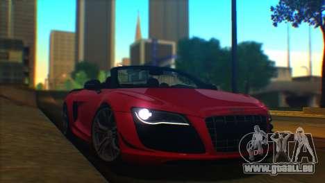 ENBSeries by egor585 V2 pour GTA San Andreas deuxième écran