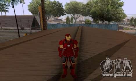 Skins Pack - Iron man 3 pour GTA San Andreas septième écran
