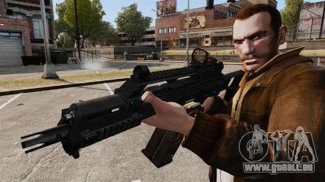 HK G36c für GTA 4 weiter Screenshot