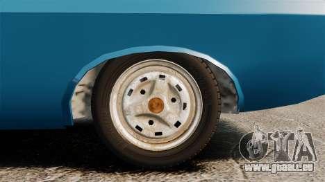 Dacia 1310 Sport v1.2 pour GTA 4 Vue arrière