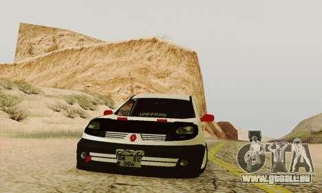 Renault Kangoo für GTA San Andreas Innenansicht