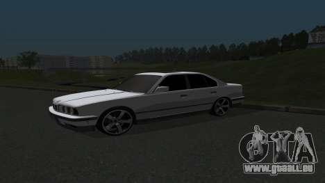 BMW 535i pour GTA San Andreas laissé vue