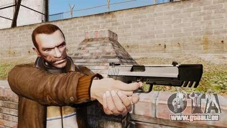 Chargement automatique pistolet USP H & K v6 pour GTA 4