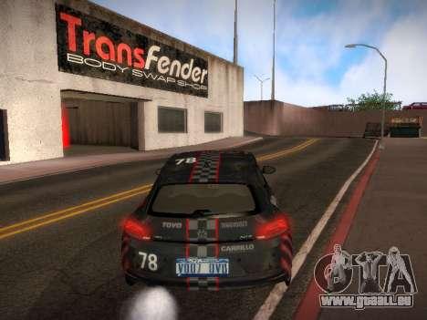 Volkswagen Scirocco pour GTA San Andreas roue