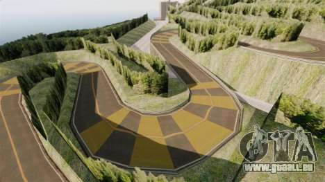 Nouvel emplacement Hakone pour GTA 4 cinquième écran