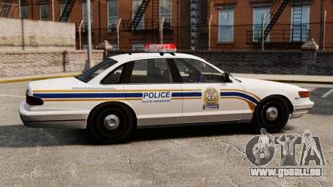Police de Sherbrooke pour GTA 4 est une gauche
