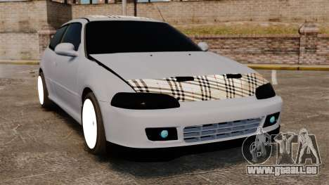 Honda Civic Gtaciyiz pour GTA 4