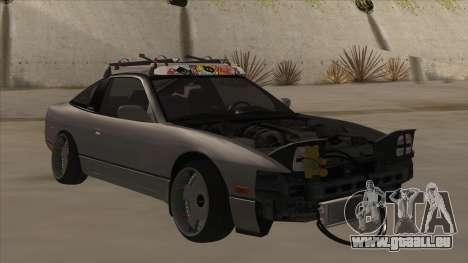 Nissan 240SX Rat pour GTA San Andreas laissé vue