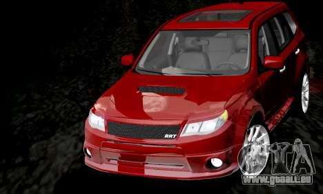 Subaru Forester RRT Sport 2008 v2.0 pour GTA San Andreas vue de côté