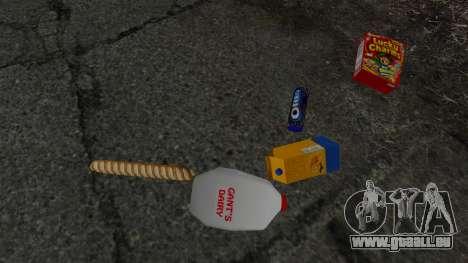 Nouveaux produits alimentaires pour GTA 4