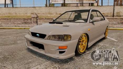 Subaru Impreza WRX STI 1999 [Final] für GTA 4