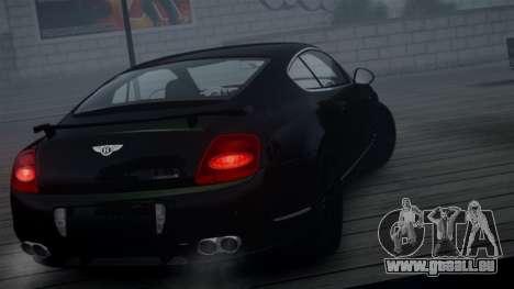 Bentley Continental GT Hamann Imperator für GTA 4 Rückansicht