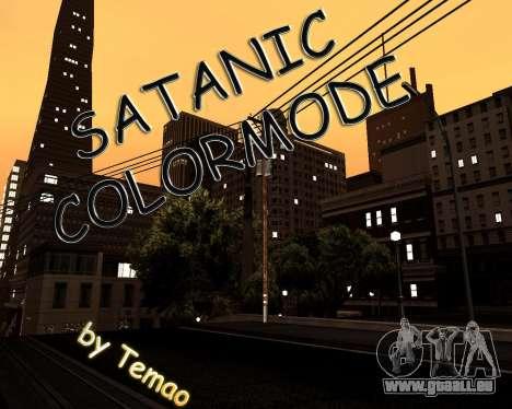 Satanic Colormode für GTA San Andreas