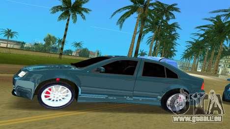 Volkswagen Bora pour une vue GTA Vice City de la gauche