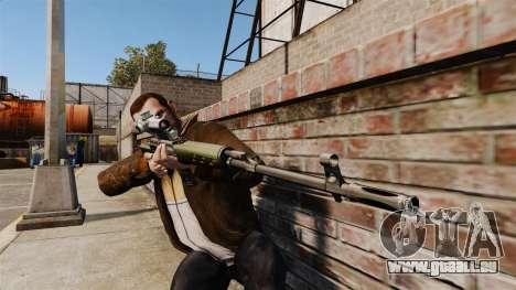 Dragunov sniper rifle v3 pour GTA 4 troisième écran