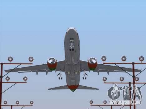Boeing 737-800 Zest Air für GTA San Andreas Räder