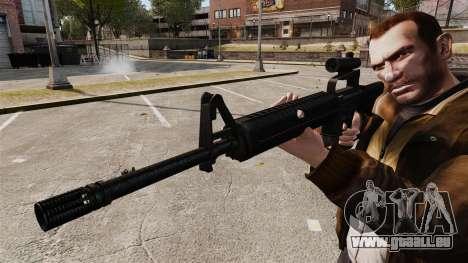 M16 A2 pour GTA 4 quatrième écran