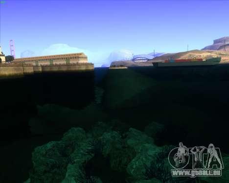 ENBSeries by MatB1200 pour GTA San Andreas troisième écran