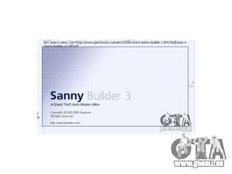 Sanny Builder v3.04 pour GTA San Andreas