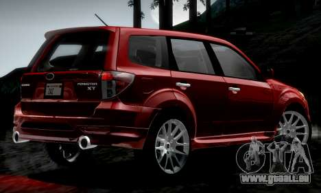 Subaru Forester RRT Sport 2008 v2.0 pour GTA San Andreas laissé vue