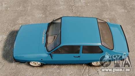 Dacia 1310 Sport v1.2 pour GTA 4 est un droit