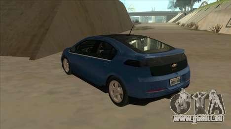 Chevrolet Volt 2011 [ImVehFt] v1.0 pour GTA San Andreas vue arrière