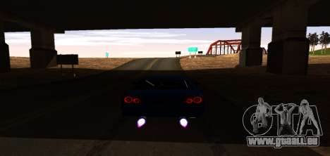 ENB Graphic Mod pour GTA San Andreas sixième écran