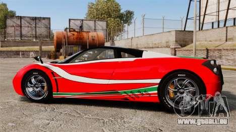 Pagani Huayra 2011 [EPM] Italian für GTA 4 linke Ansicht