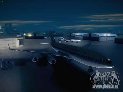 Real Airport 1.0 pour GTA San Andreas deuxième écran