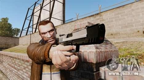 Chargement automatique pistolet USP H & K v6 pour GTA 4 troisième écran