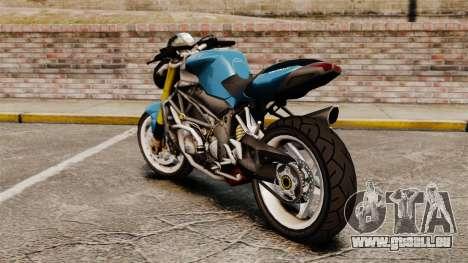 MV Agusta Brutale v2 pour GTA 4 est une gauche