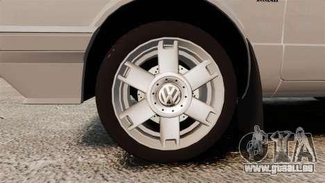 Volkswagen Citi Golf Velociti 2008 pour GTA 4 Vue arrière