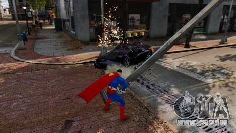 Skript für Superman für GTA 4 sechsten Screenshot
