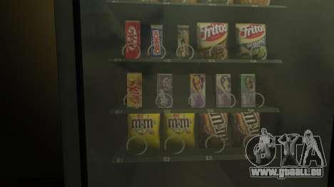 Nouveau distributeur de snèkovyj pour GTA 4 secondes d'écran