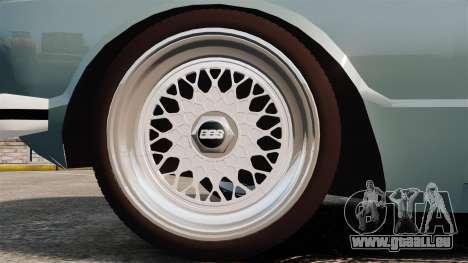 Volkswagen Brasilia für GTA 4 Rückansicht