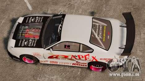 Nissan S330SX GT pour GTA 4 est un droit