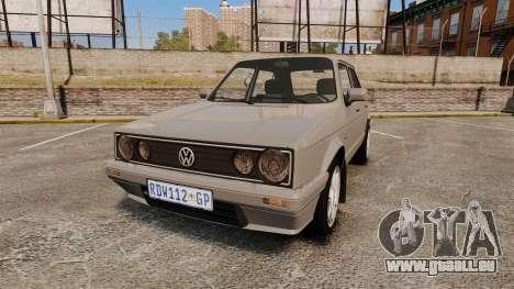 Volkswagen Citi Golf Velociti 2008 pour GTA 4