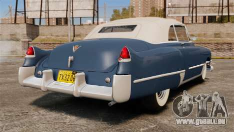 Cadillac Series 62 convertible 1949 [EPM] v3 pour GTA 4 Vue arrière de la gauche