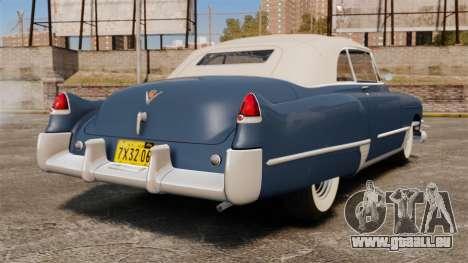 Cadillac Series 62 convertible 1949 [EPM] v3 für GTA 4 hinten links Ansicht