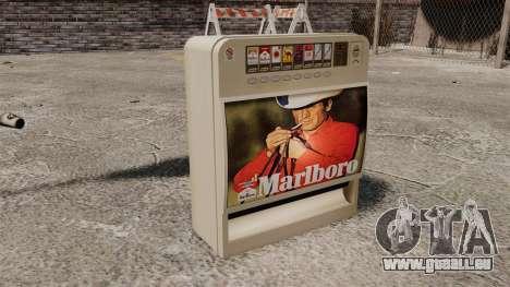 Neue Automaten Zigaretten zu verkaufen für GTA 4 dritte Screenshot