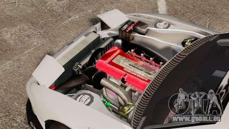 Nissan S330SX GT pour GTA 4 Vue arrière