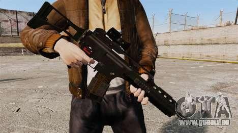 Sturmgewehr HK G36k für GTA 4 Sekunden Bildschirm