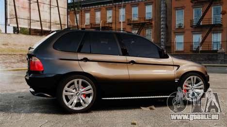 BMW X5 4.8iS v1 pour GTA 4 est une gauche