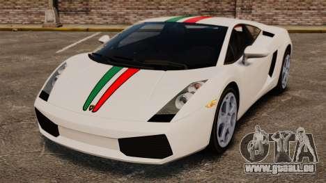 Lamborghini Gallardo 2005 [EPM] Italian pour GTA 4